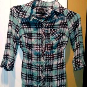 Guess Jeans button up tunic